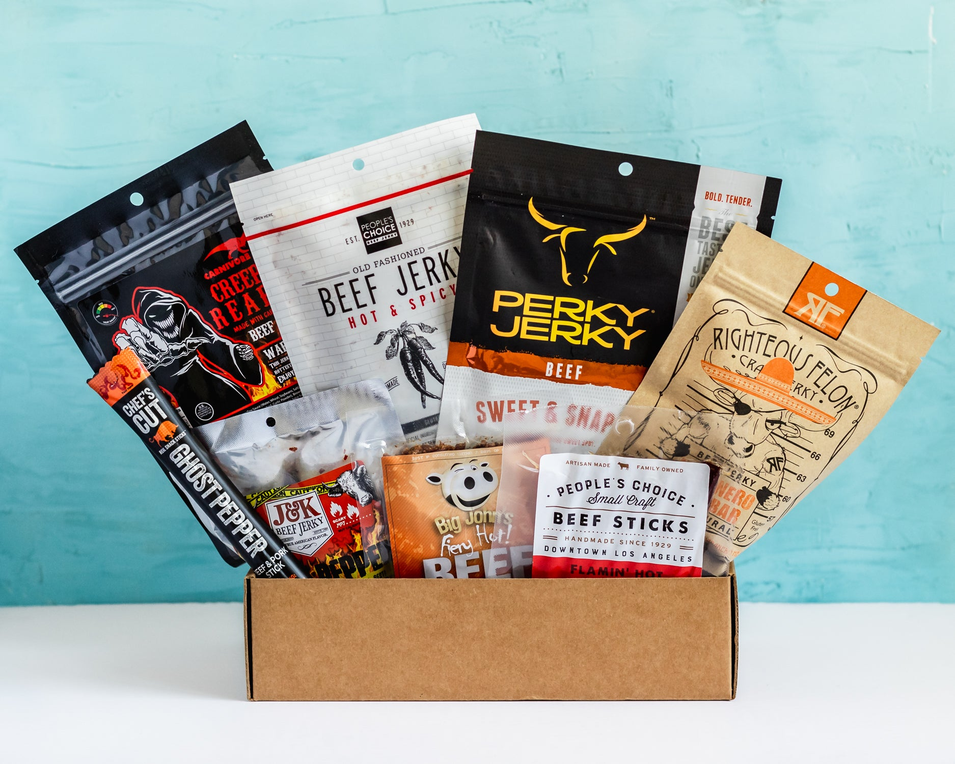 spicy jerky subscription box