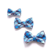 Load image into Gallery viewer, TARTAN BLUE Bow Tie