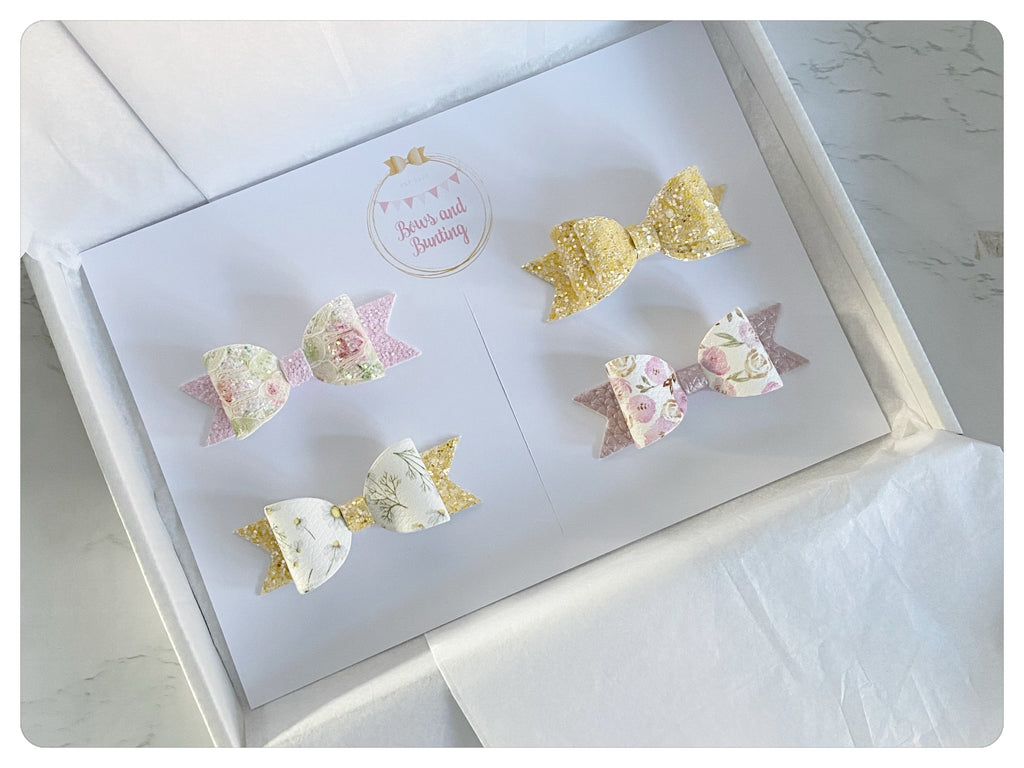 Mini Bow Set of 4 Gift Set - SS21