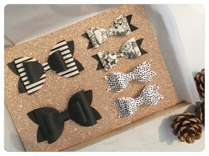 Monochrome Bow Gift Set