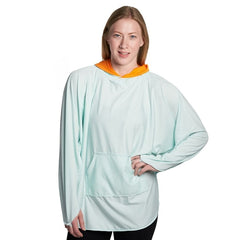 Equinox Reversible Hoodie Cover-Up Made In USA 100% Best Quality Unisex