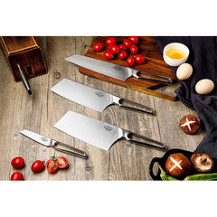 9 pcs chef knife German 1.4116 HC
