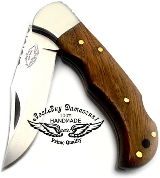 Pocket Knife 6.5'' Rose Wood