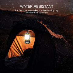 100% Best Quality Portable LED Camping Outdoors & Sports Hunting Fishing Lantern Work Light Outdoor Tent