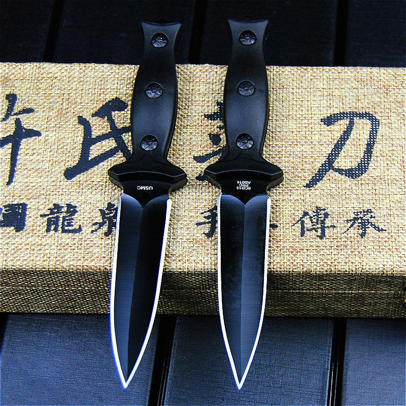 High Quality Steel Pocket Tactical Knives Fixed Blade Knife Survival Rescue Tools Hunting Knives Hunting Combat Outdoor Gear