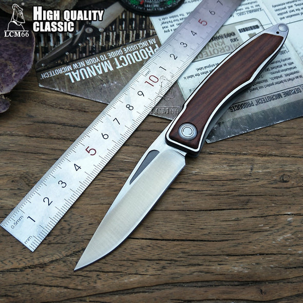 Folding Pocket Knife 440c steel