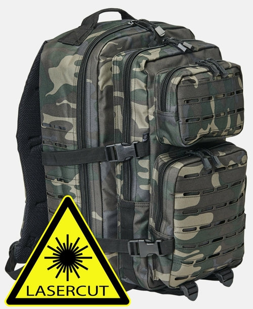 US Cooper LASERCUT large Camping Hiking Hunting Outdoor & Sports Backpack 100% Best Quality