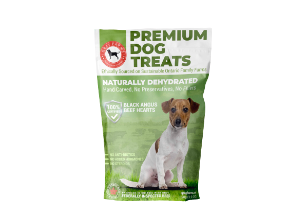 Premium Dog Treat Box of 6 Packages-$80.00