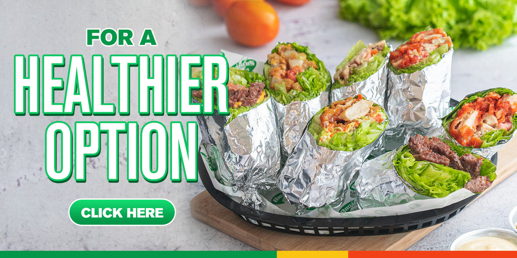 Brothers Burger Lettuce Wrap
