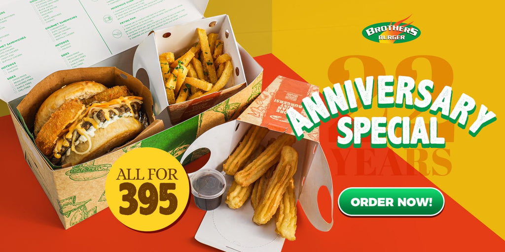 Brothers Burger Anniversary Special