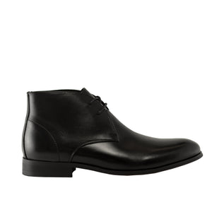 Genuine Leather Boots-Don Black