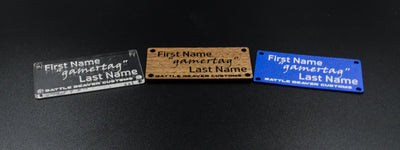 Small Personalized Nameplate