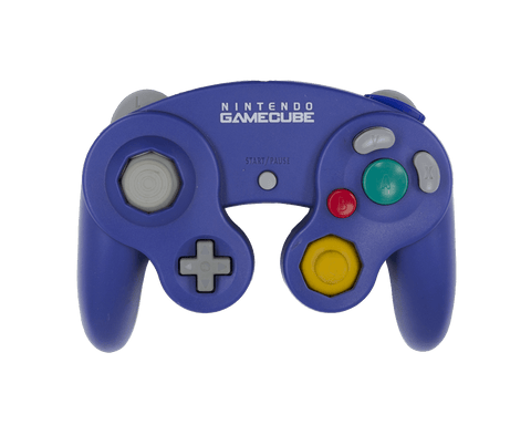 Stock Indigo Gamecube Controller - Battle Beaver Customs