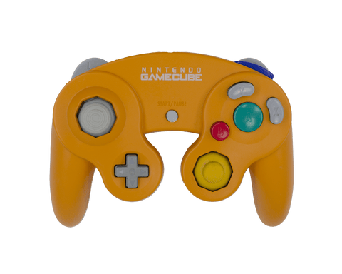 Stock Spice Orange Gamecube Controller - Battle Beaver Customs