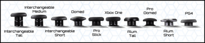 Domed Pro Thumbsticks