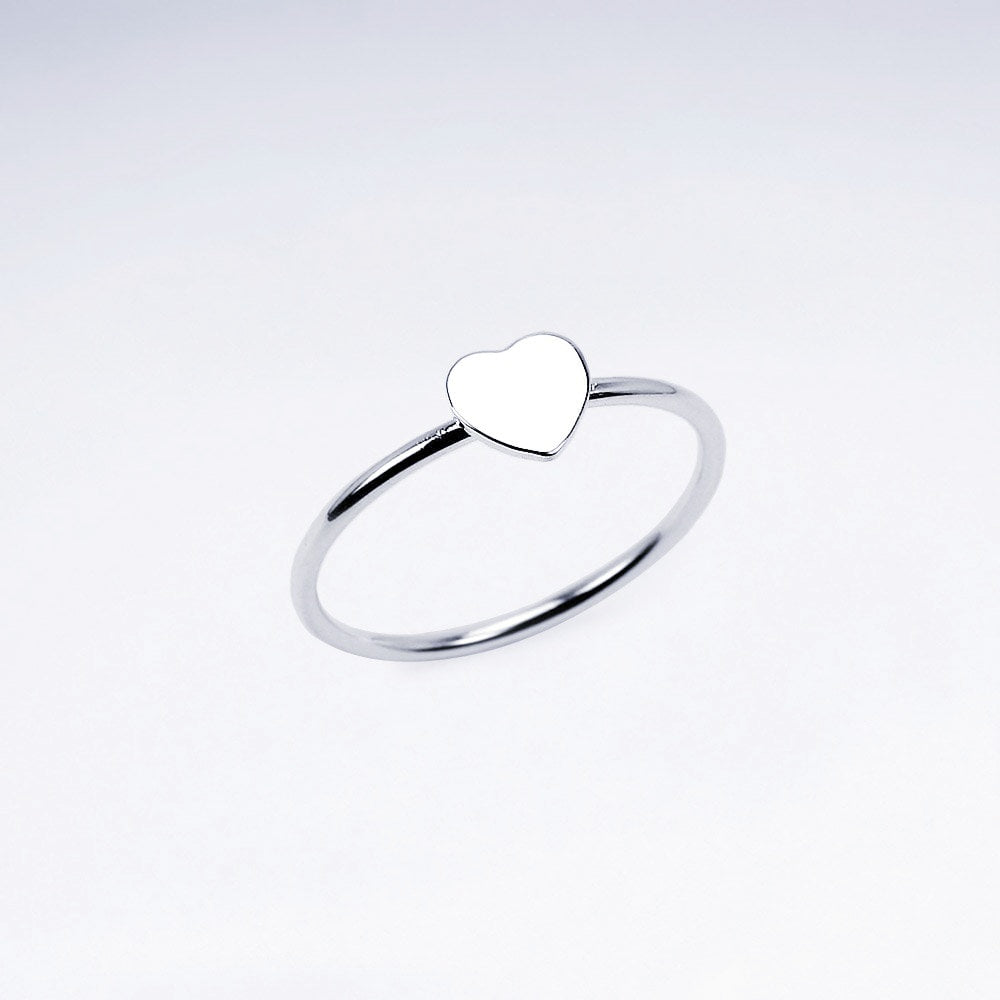Herz Ring in 925 Sterlingsilber
