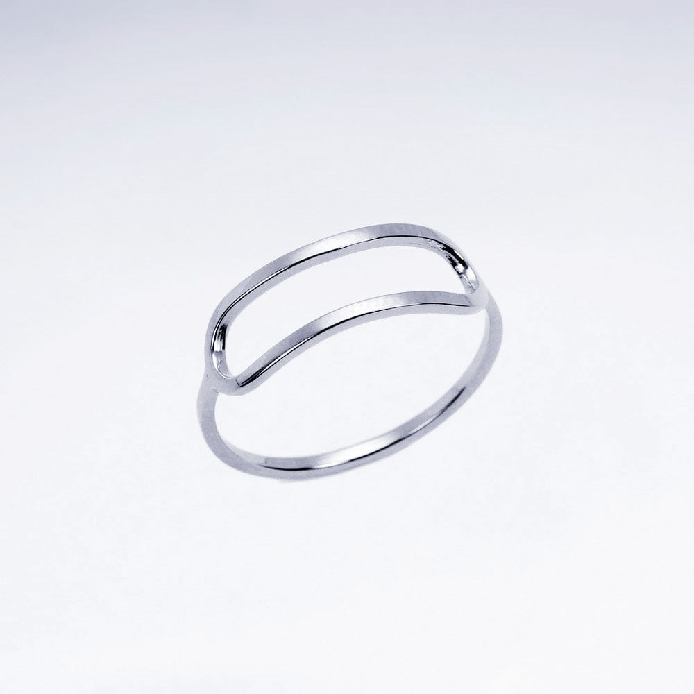 Cut out Ring 925 Sterlingsilber