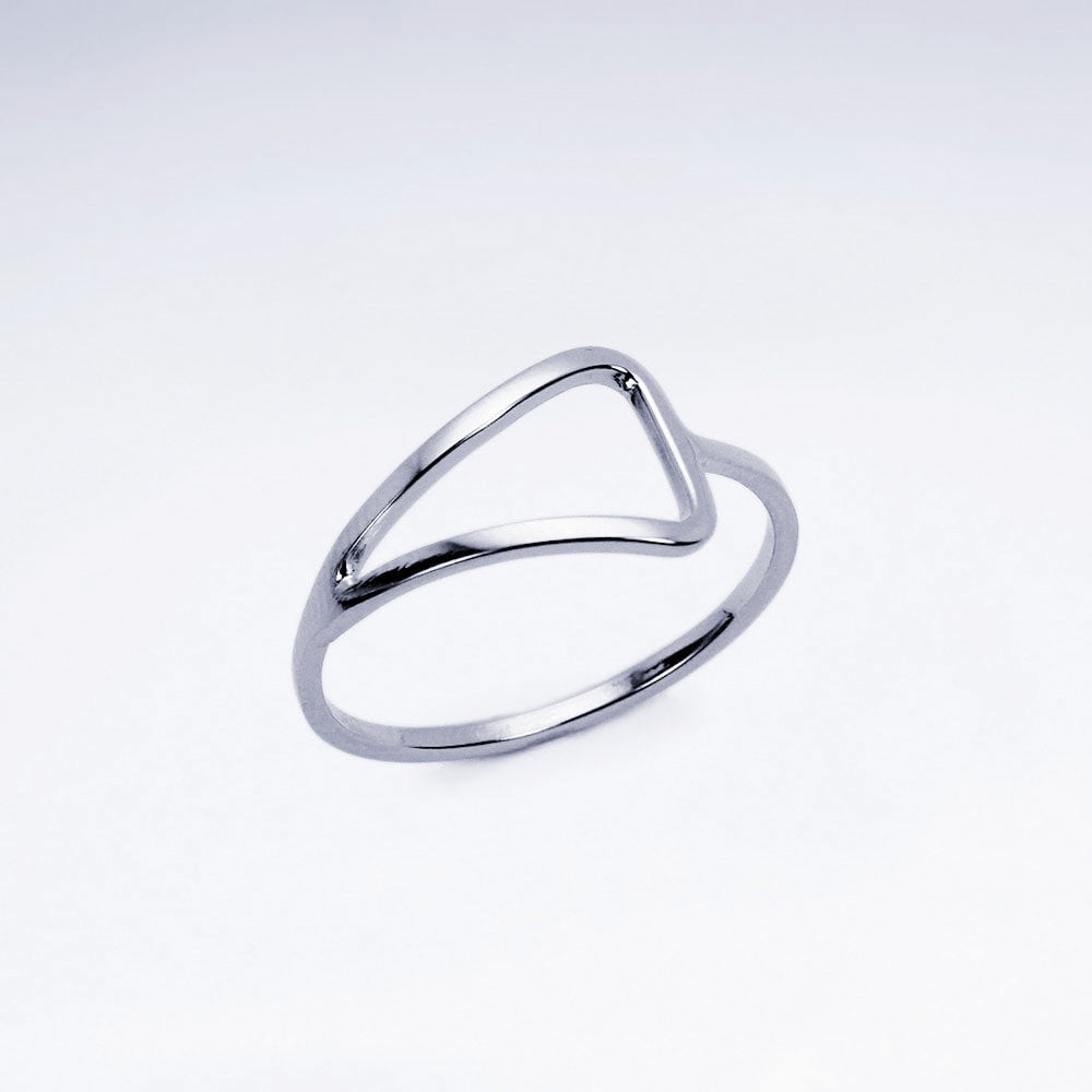 Cut out Dreieck Ring