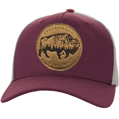 Wild Curved Brim Trucker