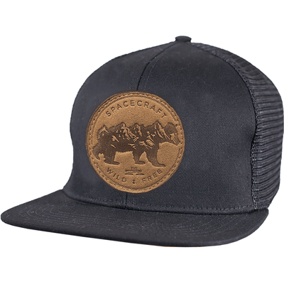 Wild Flat Brim Trucker - Spacecraft