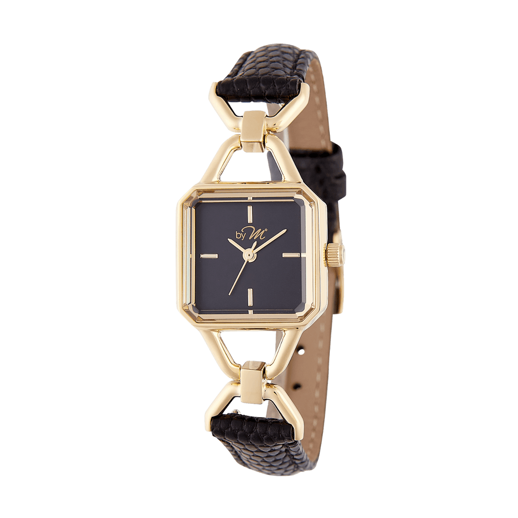 Vintage inspired design women's watch. WL004BK