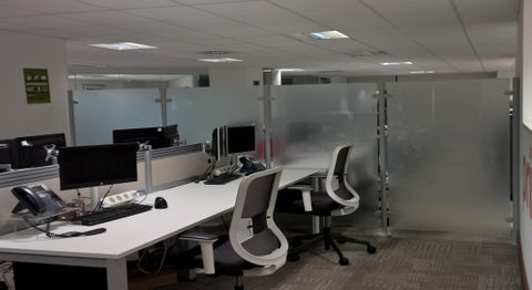 Glass Reception Screens & Partitions