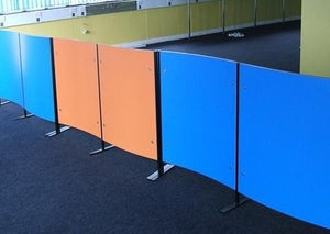 Office Screens - Curved - Screens Plus