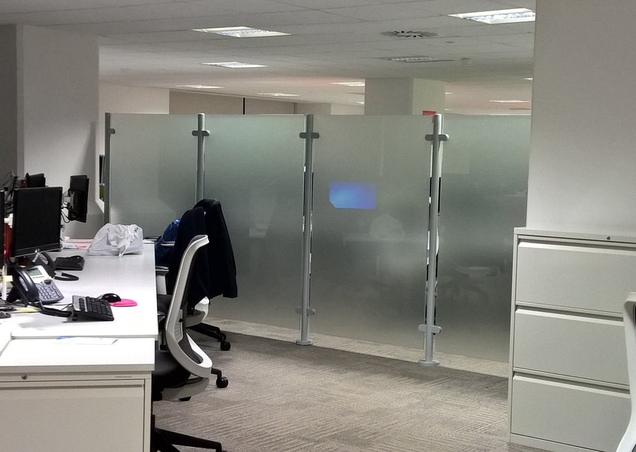 Freestanding Glass Screens