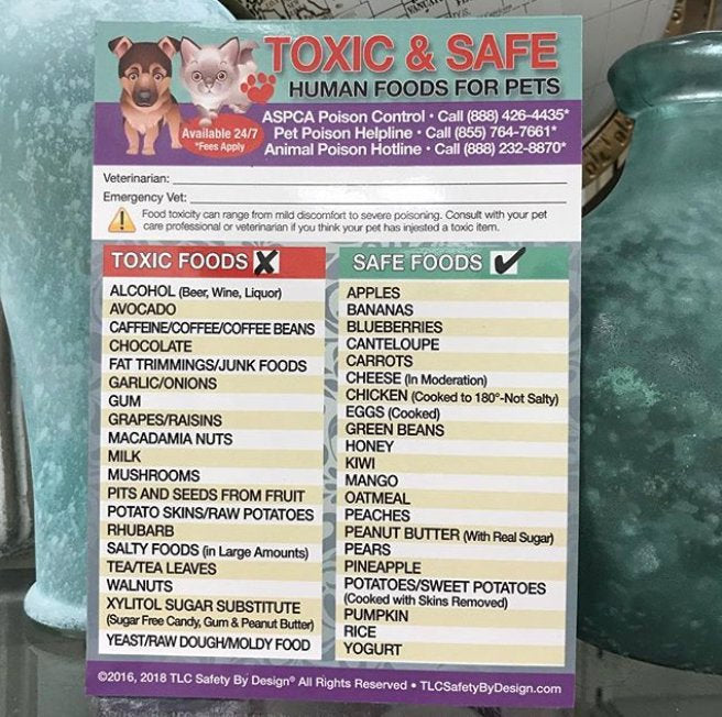 ENHANCED TOXIC and SAFE Foods 5