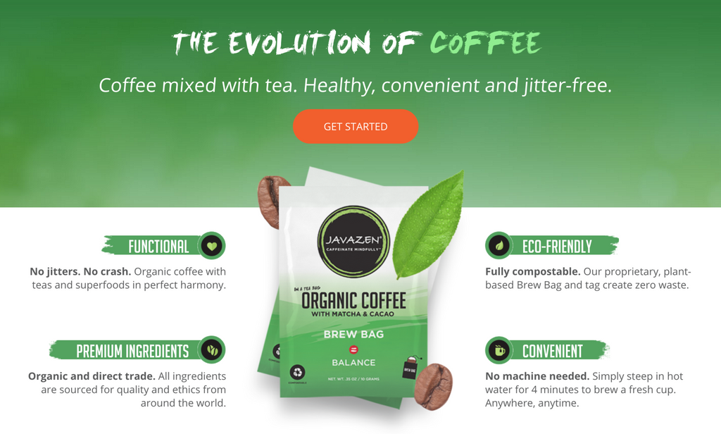 "Javazen Launches Single-Serve ""Brew Bags"", Vows to 'Kill the K-Cup'"