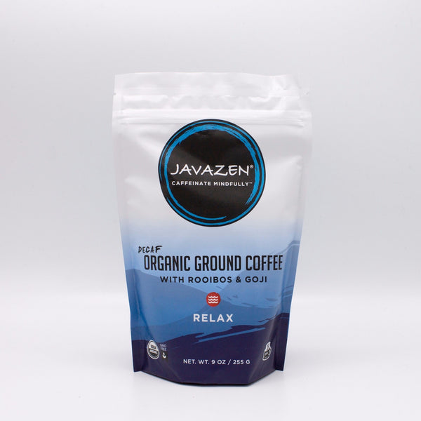 Javazen Relax: Decaf Coffee, Rooibos Tea & Goji