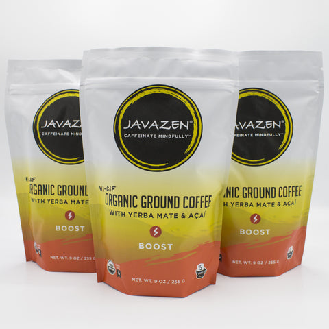 3-pack of Javazen Boost
