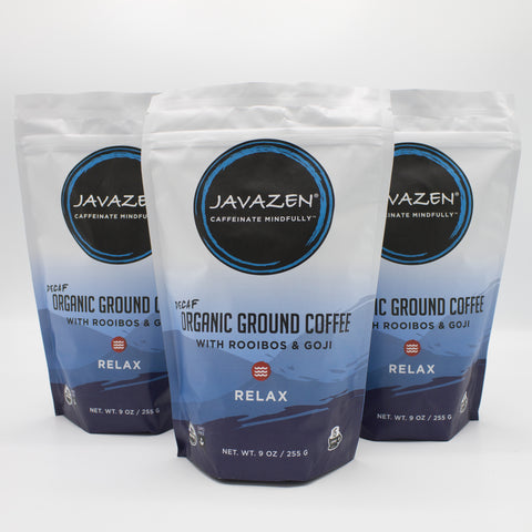 3-pack of Javazen Relax