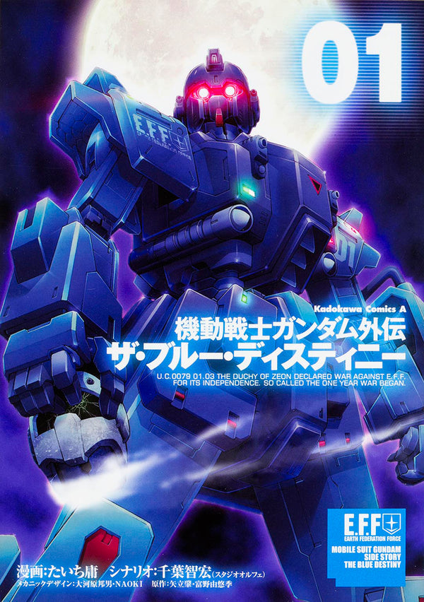 Mobile Suit Gundam Side Story The Blue Destiny Vol. 1 | Gundam UC Project