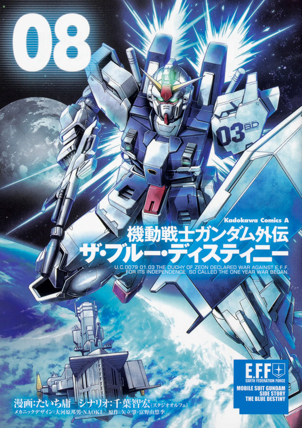Mobile Suit Gundam Side Story The Blue Destiny Vol. 8 | Gundam UC Project