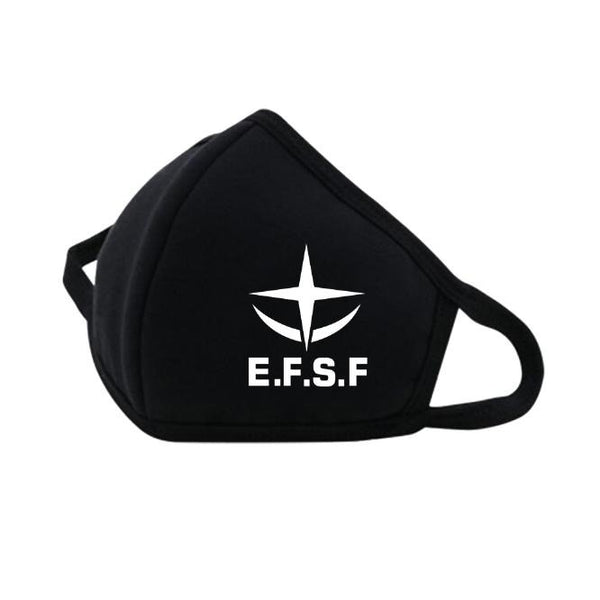 Mobile Suit Gundam E.F.S.F. Face Mask | Gundam UC Project