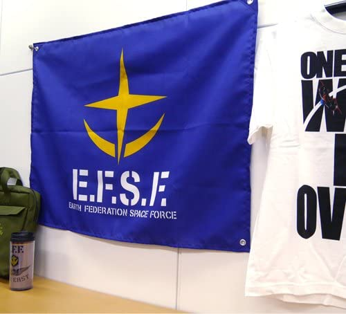Earth Federation Space Force E.F.S.F. Military Flag | Gundam UC Project