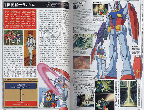 Mobile Suit Gundam Pictorial - 20 Years History of Mobile Suit Media | Gundam UC Project