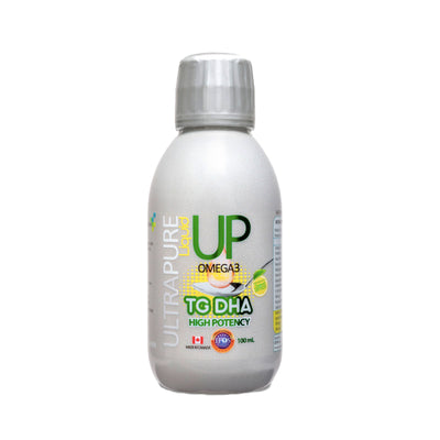 Omega 3 UP Líquido TG DHA High Potency 100ml New Science