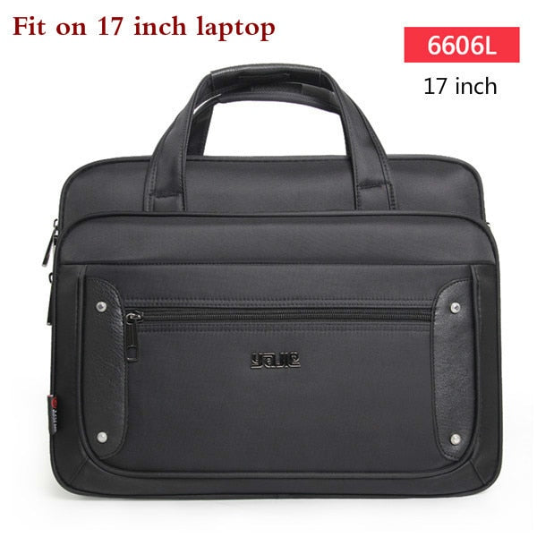2020 Top-level Super Capacity Plus Business Men's Briefcase Women Handbags Laptop Bags 16 17 19 Inch Oxford Crossbody Travel Bag