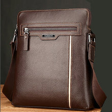 Load image into Gallery viewer, Man Leather Bag VORMOR Brand Shoulder Crossbody Bags PU Leather Male iPad Business Messenger Bag Briefcase For Men