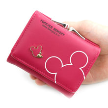 Load image into Gallery viewer, 2020 Cartoon Leather Women Purse Pocket Ladies Clutch Wallet Women Short Card Holder Cute Girls Wallet Cartera Mujer Coin Bag