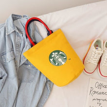Load image into Gallery viewer, Women Oxford Canvas Tote Handbag Female Large Capacity Shoulder Bags Ladies Casual Shopping Bag Girls Reusable Bucket Phone Bags