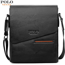 Load image into Gallery viewer, VICUNA POLO Vintage Frosted Leather Messenger Bag For Man Brand Business Man Bag Men's Shoulder Bags Front Pocket Men Handbag