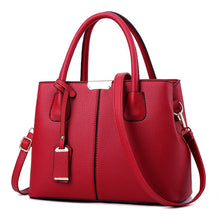 Load image into Gallery viewer, Women Bag Vintage Casual Tote Top-Handle Women Messenger Bags Shoulder student Handbag Purse Wallet Leather 2019 New