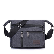 Load image into Gallery viewer, Men Canvas Shoulder Bags Casual Tote Travel Men's Crossbody Bag Luxury Messenger Bags Fashion High Quality Handbag