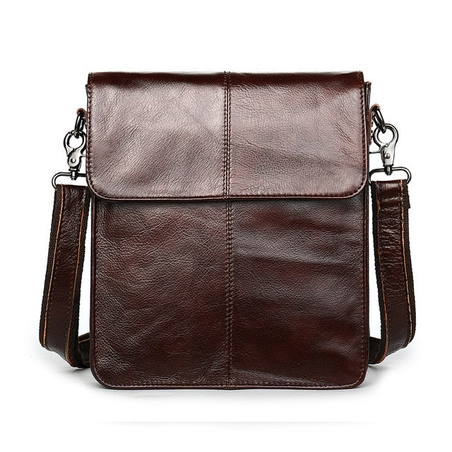 WESTAL men's bags genuine leather shouler bag for men messenger bag men's crossbody handbag men's shoulder bag flap zipper bags
