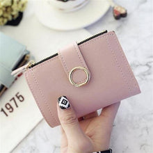 Load image into Gallery viewer, 2020 Women Wallets Small Leather Purse Fashion Brand Women Ladies Card Bag Clutch Women Female Purse Money Clip Slim Wallet PU