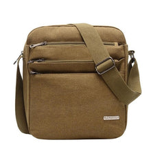 Load image into Gallery viewer, Men's Messenger Bag Crossbody Shoulder Bags Travel Bag Man Purse Small Sling Pack for Work Business Men's Bag