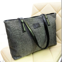 Load image into Gallery viewer, Canvas Women Bag Large Capacity Women's Shoulder Bag Female Casual Totes Appliques Portable Shopping Bag Lady Casual HandBag